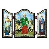 NKlaus 1421 Xenia di San Pietroburgo Icona cristiana Ksenija Peterburgskaja Altare