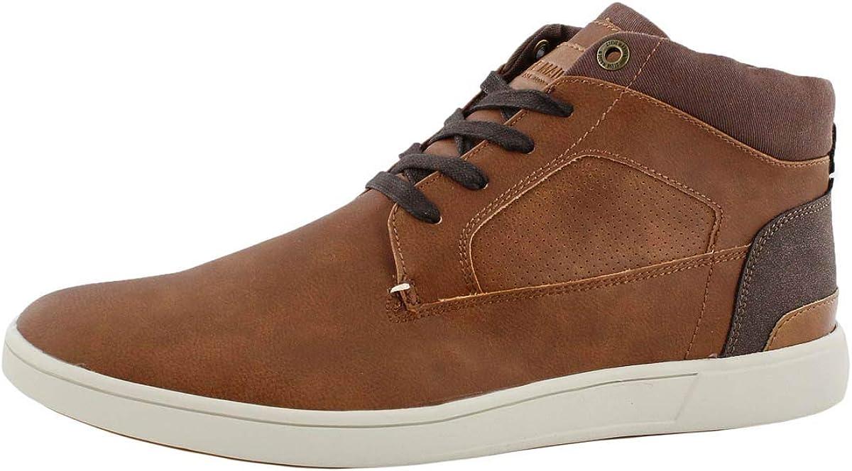 Steve Madden Men's service Max 42% OFF Fyre Lace Up Boot Ankle Cognac
