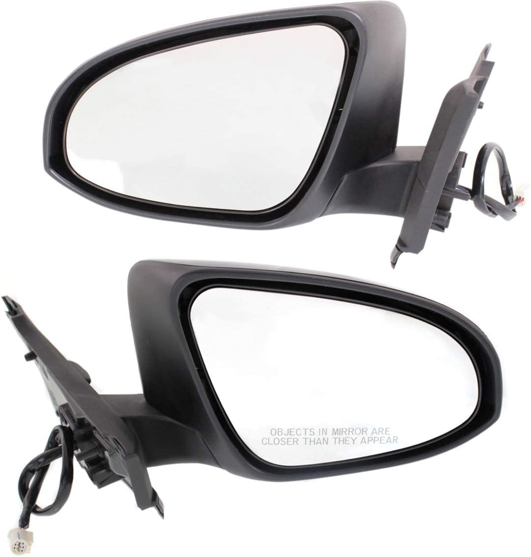 Kool 選択 Vue Power Mirror compatible with Yaris Toyota a 15-18 Right 人気商品