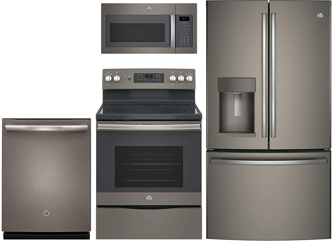 GE 4 Piece Kitchen Package With JB655EKES 30