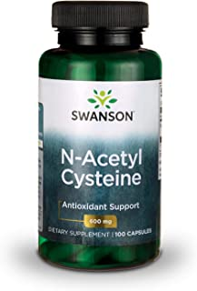Sponsored Ad - Swanson NAC N-Acetyl Cysteine Antioxidant Anti-Aging Liver Support & Amino Acids Supplement 600 mg 100 Caps...