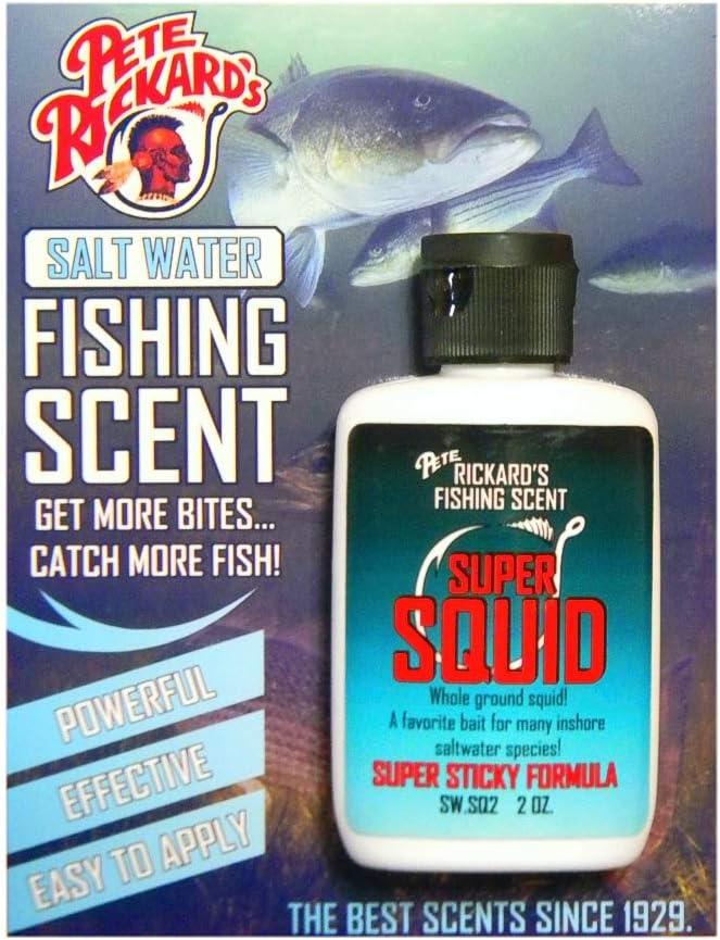 Pete San Cash special price Jose Mall Rickard's Saltwater Super Squid Attractant Fishing Fl Scent