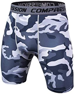 Newest Fitness Shorts Men Tights Compression Shorts Bermuda Camouflage Short Fitness Men Bodybuilding Tights Camo Short
