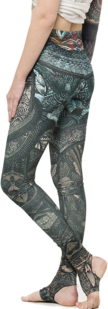 Yoga Leggings For Women Purple Yoga Pants Yoga Gear Tribal Yoga Pants High Waisted Printed Leggings Tribal Leggings Feather Leggings