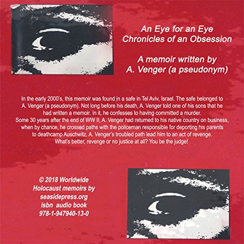 An Eye for an Eye: Chronicles of an Obsession audiobook cover art