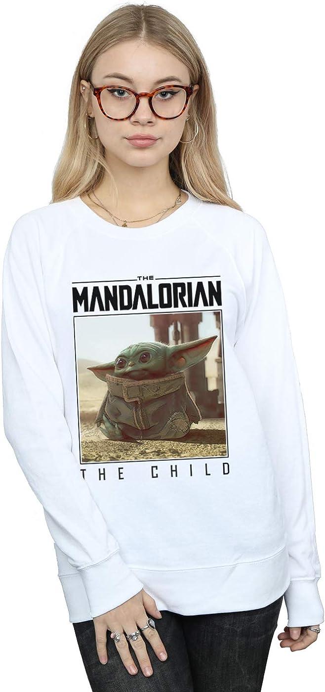 Max 68% OFF Star Wars Women's The Mandalorian Child online shop Sweatshirt Frame