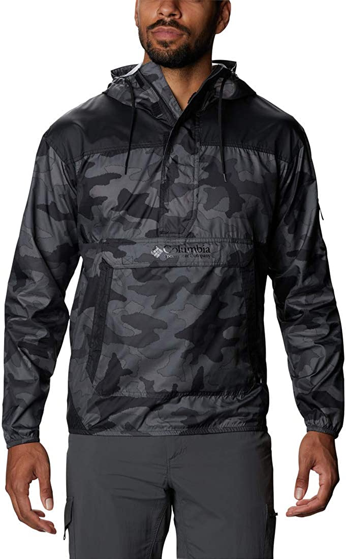 Columbia Men's Challenger Max 47% New Free Shipping OFF Hooded Windbreaker Repellent Water