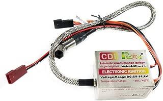 Part & Accessories Rcexl Automatic Single Cylinder CDI Ignition 6V-14.4V for NGK ME8 1/4-32 120 Degree + Universal Sensor Bracket