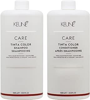 KEUNE Care Tinta Color Shampoo & Conditioner 33.8oz / 1L Duo