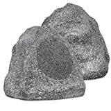 """Best Base Speakers - Theater Solutions 2R8G Outdoor Granite 8"""" Rock 2 Review"""