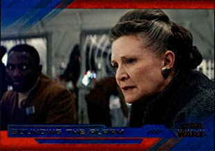2018 Topps Star Wars The Last Jedi Series 2 Blue #27 Sounding the Alarm Collectible Movie Trading Card