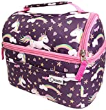 Unicorn Lunch Box for Girls Toddlers Kids, Insulated Bag for Baby Girl Daycare Pre-School...