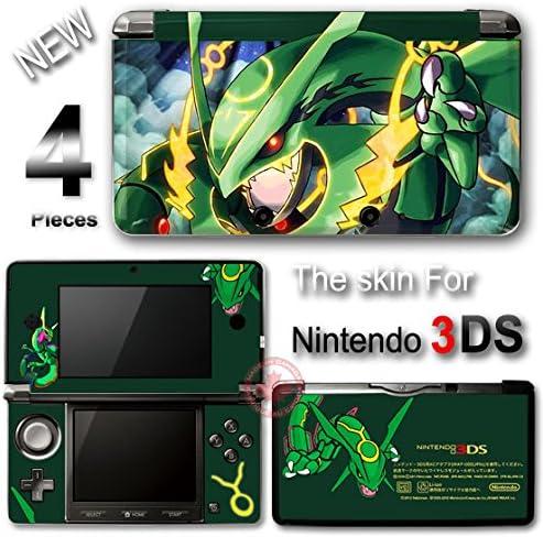 Pokemon Emerald Rayquaza Delta Cool Skin Sticker Cover for Original Nintendo 3DS product image