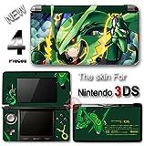 Pokemon Emerald Rayquaza Delta Cool Skin Sticker Cover for Original Nintendo 3DS