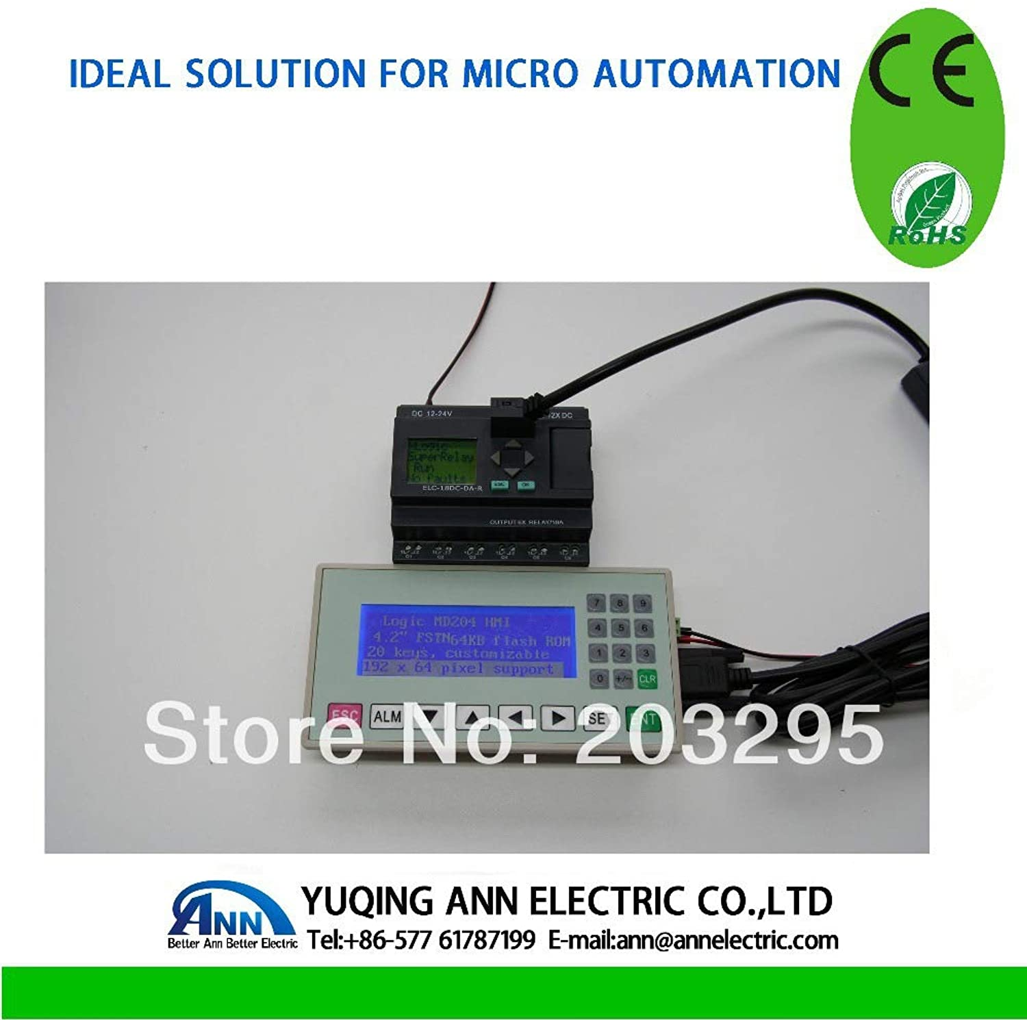 Expansion Module ELCMD204L Text Panel