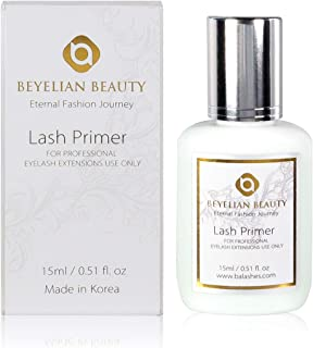 BEYELIAN Lash Primer Protein Removal Eyelash Extensions Use Only Pre-treatment Oil Dust Cleanser on Natural Lashes Enhanci...
