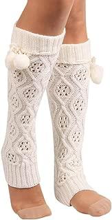 Socks Women, Liraly Winter Warm Knitted Socks Leg Warmers Boot Crochet Long