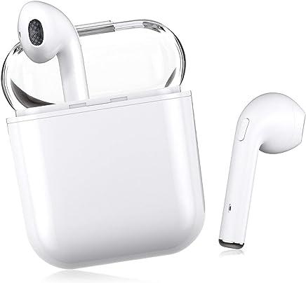 Bluetooth イヤホン 完全ワイヤレス ブルートゥース マイク付き 左右分離型 片耳 両耳 対応 充電ケース付き