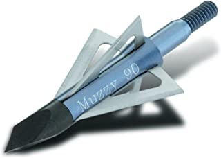 Muzzy Bowhunting 4-Blade Replacement Blades for 209 and 209-R Broadheads, 100 Grain, 6 Pack