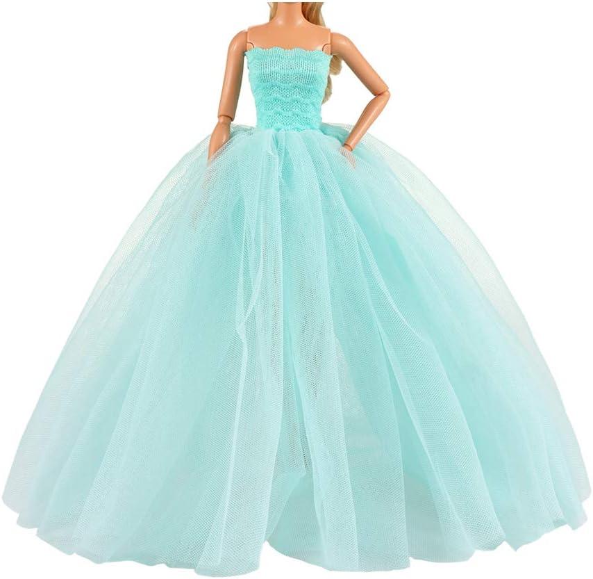 BARWA Light Popular brand in the world Blue Wedding Dress Princess 5 ☆ very popular Veil with Evening Party