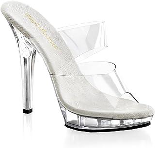 726fa37899 Amazon.com: Clear Women's Wedge & Platform Sandals