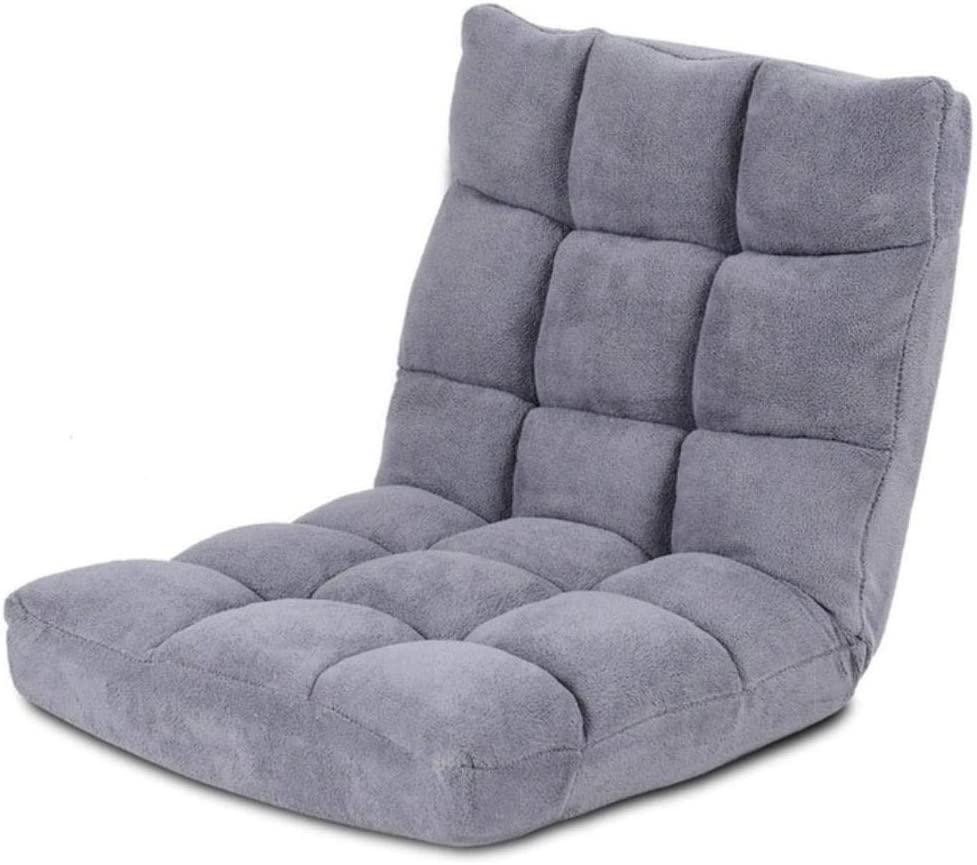 QPB Chaise de Sol rembourrée réglable Salon Chaise de Loisirs Chaise deSol ChaiseLongue, café Beige