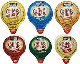 30 Count Coffee Mate Liquid .375oz Sampler Pack (6 Flavor)