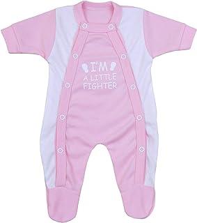 Babyprem Frühchen Frühgeborene Baby Kleidung Schlafanzüge Strampler Kleine Kämpfer 32-50cm