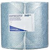 Kimtech 7643 Prozesswischtücher, 1 Rolle x 500 Tüchern, blau