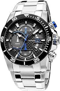 Relogio Technos Cronograph Calendario Os10er/1a Masculino