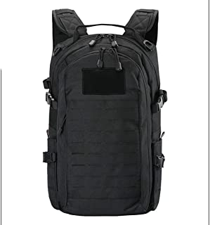 RJW Outdoor Backpack/Men's Backpack/Hiking Backpack/High-end Quality Exquisite Fashion (Color : Black)
