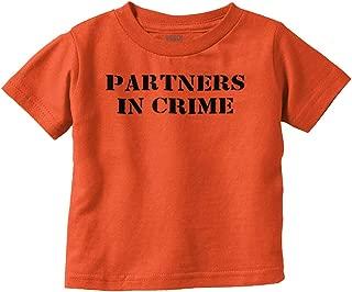 Partners in Crime Funny Prisoner Baby Gift Infant Toddler T Shirt