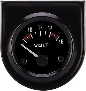 Universal Voltmeter, 52 mm, 8–16 V, Voltmeter, Voltmeter, Messgerät, 52 mm