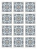 Panorama Azulejos Adhesivos Cocina Baño Pack de 48 Baldosas de 15x15 cm Azulejo...