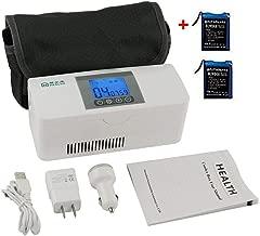 Hogar Viajes Estuche de Refrigeraci/ón Port/átil para Medicamentos Mini Nevera de Medicamentos y Enfriador de Insulina para Autom/óviles