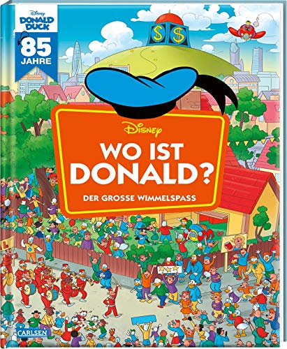 Disney: Wo ist Donald? – Wimmelbuch mit Donald Duck: Der große Wimmelspaß (Wimmelbuch)