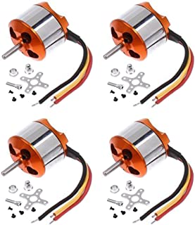 4 Pcs A2212 13T 1000KV Outrunner Brushless Motor for DJI F450 F550 MWC Multicopter