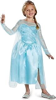Disney's Frozen Elsa Snow Queen Gown Classic Girls Costume, X-Small/3T-4T