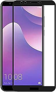 TBOC skärmskydd för Huawei Y7 [2018] - Y7 Prime [2018] - Honor 7C - 5D härdat glas, Svart