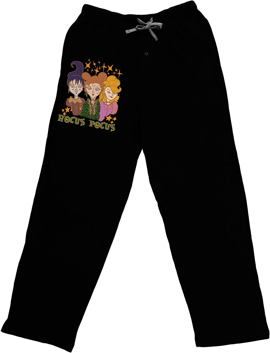 TOOLOUD Max 77% OFF Hocus Pocus Witches Adult Lounge Pants Dark Bargain