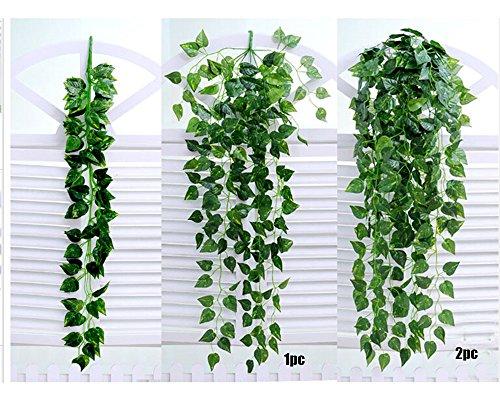 Artificial Fake Hanging Vine Plant Leaves Garland Home Garden Wall Decoration, Home Decor, Home & Garden (A)