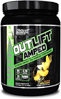 Nutrex Outlift Amped. Peach Pineapple - 446g