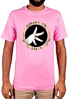 AnnaBGuillaume Men's Kurupt Fm Throw Up Your K's Limited Edition Cool T-Shirt Casual Tees 108.9 Chabuddy G