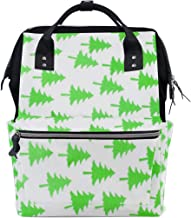 Backpack Christmas Pattern Mens Laptop Backpacks Shoulder Hiking Daypack