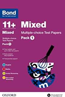 Bond 11+: Mixed: Multiple-choice Test Papers: Pack 1