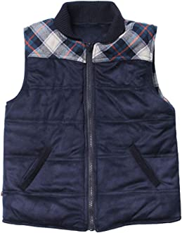 Choose Size Axel /& Hudson Boy/'s Reversible Navy Plaid Vest $69 Details about  /NWT Fore!