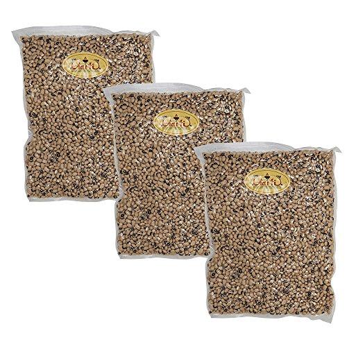 ブラックアイビーンズ 3kg 【1kg×3袋】 White Lobia 業務用 黒目豆 ささげ豆 ホワイトロビア チャウラ 豆 乾物