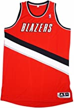 adidas Portland Trail Blazers NBA Red Official Authentic On-Court Revolution 30 Alternate Jersey for Men