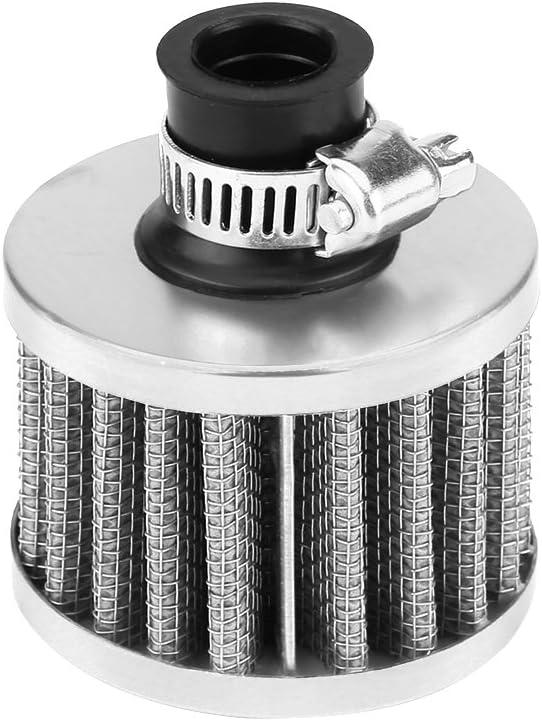 Air Filter, Qiilu Universal 13mm Car Cold Air Intake Filter Kit