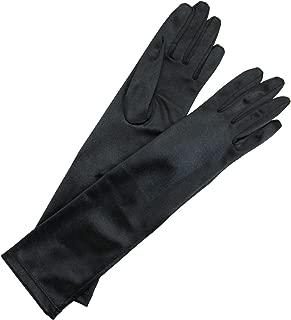 Satin Fabric Long Glove